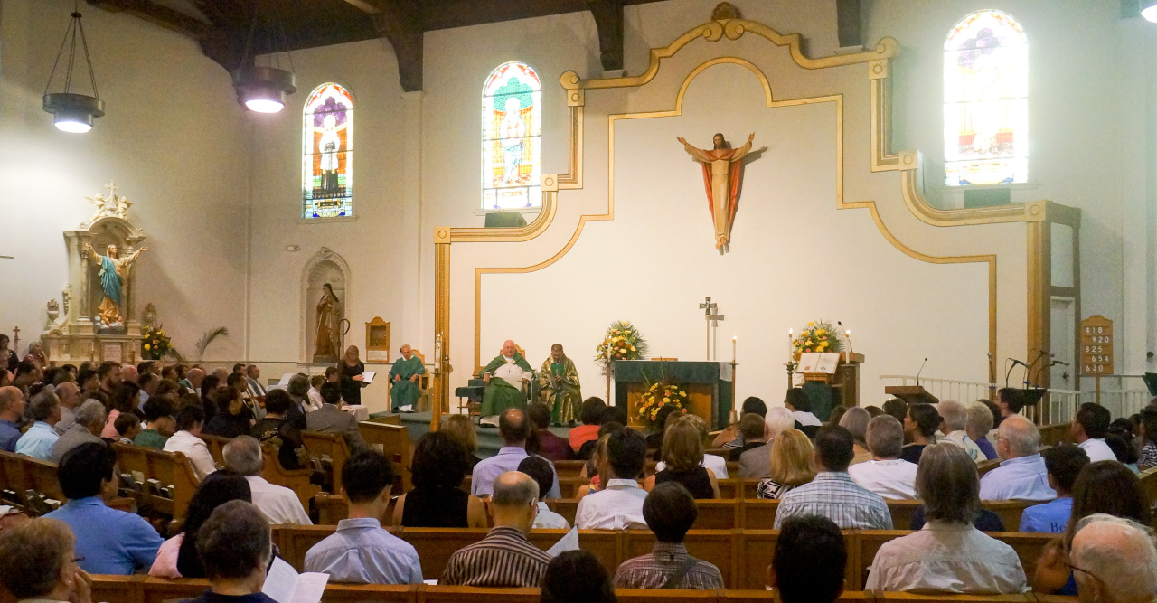 Installation Mass of Fr. Tad Photo 6