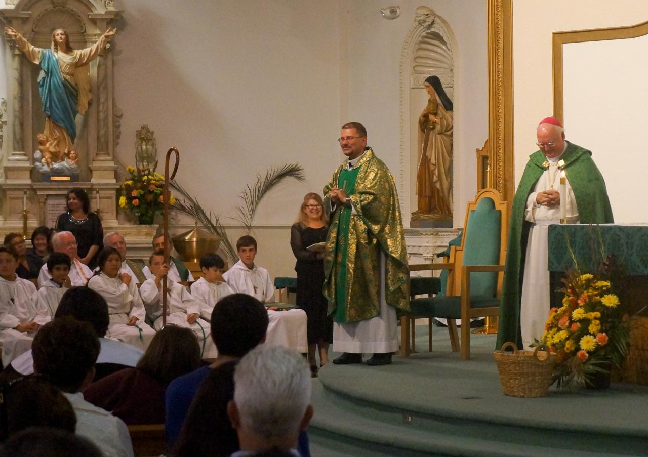 Installation Mass of Fr. Tad Photo 8
